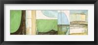 Framed Les Vagues