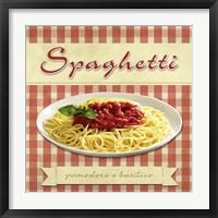 Framed Spaghetti