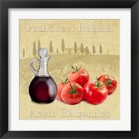 Framed Cucina Italiana I