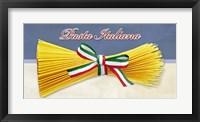 Framed Pasta Italiana