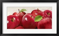 Framed Red Apples
