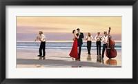 Framed Romance on the Beach