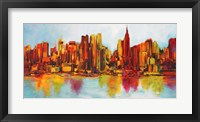 Framed New York Abskyline