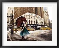 Framed Kiss in Park Avenue