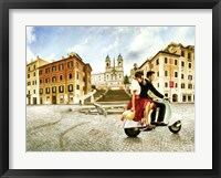 Framed Lovers in Rome