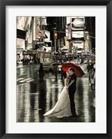 Framed Romance in New York (Detail)