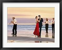 Framed Romance on the Beach (Detail)