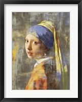 Framed Vermeer's Girl 2.0