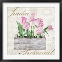 Framed Jardin Provencal