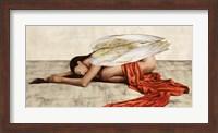 Framed Reclined Angel (Detail)