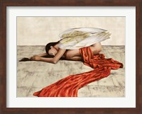 Framed Reclined Angel