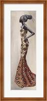 Framed Princesse d'Afrique