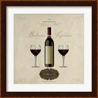 Framed Bordeaux Superieur