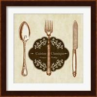 Framed Cuisine Classique