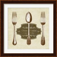 Framed Classic Cuisine