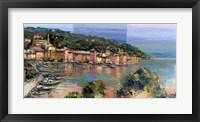 Framed Portofino d'Estate