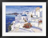 Framed Mykonos