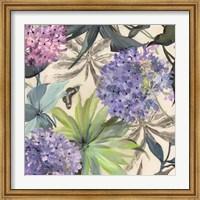 Framed Lilac Hydrangeas