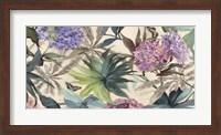 Framed Hydrangeas Panel