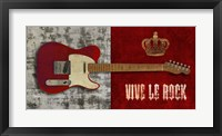 Framed Vive le Rock