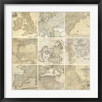 Around the World II Framed Print