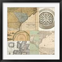 Framed Cahiers de Voyage IV