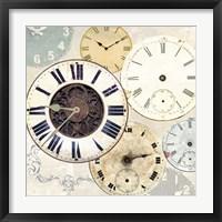 Framed Timepieces I