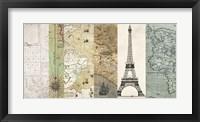 Framed Cahiers de Voyage I