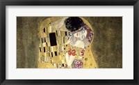 Framed Kiss (horizontal detail)