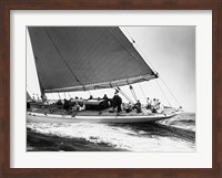 Framed Yankee Cruising on East Coast, 1936