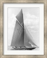 Framed Vanitie During the America's Cup, 1910