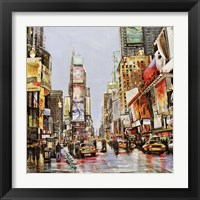 Framed Times Square Jam
