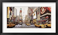 Framed Times Square Perspective