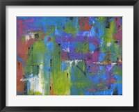 Framed Quartiere Colorato