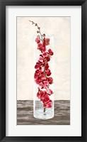 Framed Arrangement of Orchids