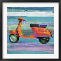 Pop Scooter II Framed Print