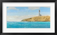 Lighthouse Seascape II Framed Print