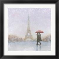 Framed Eiffel Romance