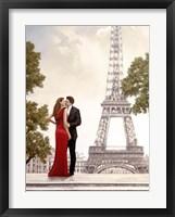 Romance in Paris I Framed Print