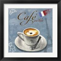 Framed Cafe au lait