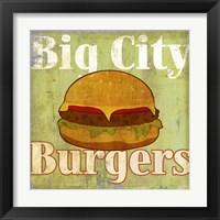 Framed Hamburger