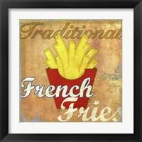 Framed French Fries