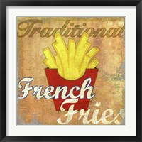 Framed French Fries