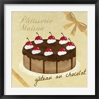 Framed Gateau au Chocolat