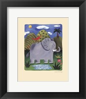 Nellie the Elephant Framed Print