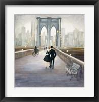 Framed Bridge to NY v.2