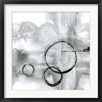 Framed Full Circle II Gray