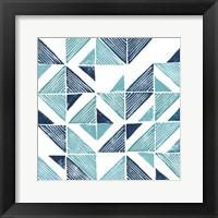 Framed Beryl Block Print III