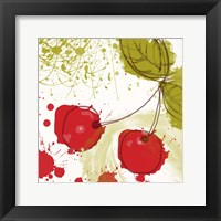 Framed Modern Cherry