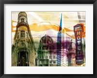 Framed San Francisco Buildings II